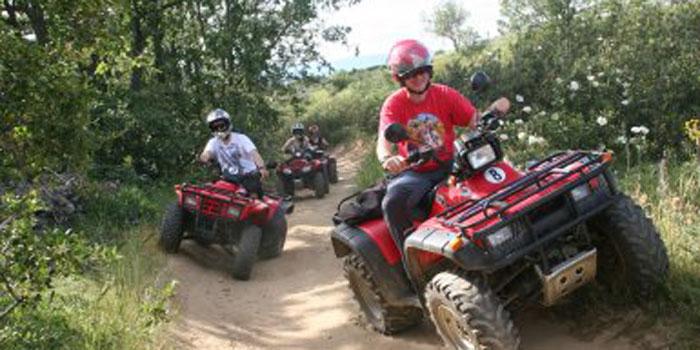 Rutas en quad, kars de pedales, iskolary, y tirolina