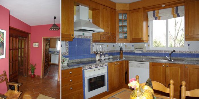 Hall y cocina